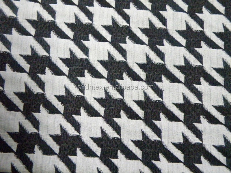 96% polyester 4% spandex knitted/knitting jacquard fabric for men's clothing