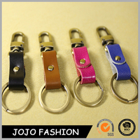Wholesale All Types of Geniue Leather Car Keychain
