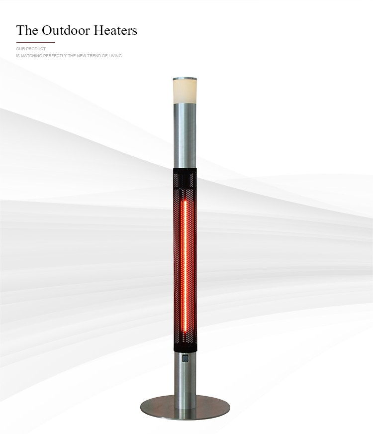 Fashion zone radiant heater with table top heating electric infrared heater table