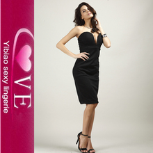 OEM Design Sexy Strapless Bandage Dress Mother Of The Bride Dress With Sleeves