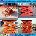 Fixed warehouse scissor lift