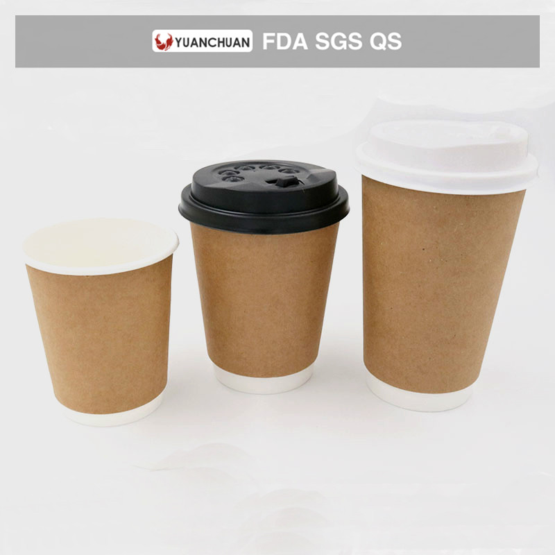 Wholesale cheap disposable 9 oz paper cup for office