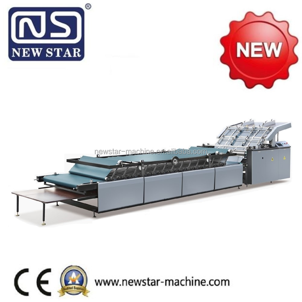 High Speed Semi-auto Flute Laminating Machines