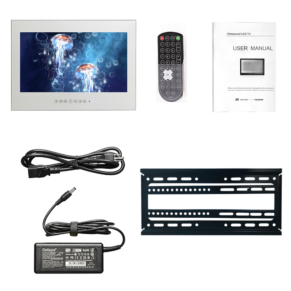 32 Inch LCD Mirror Android Waterproof TV