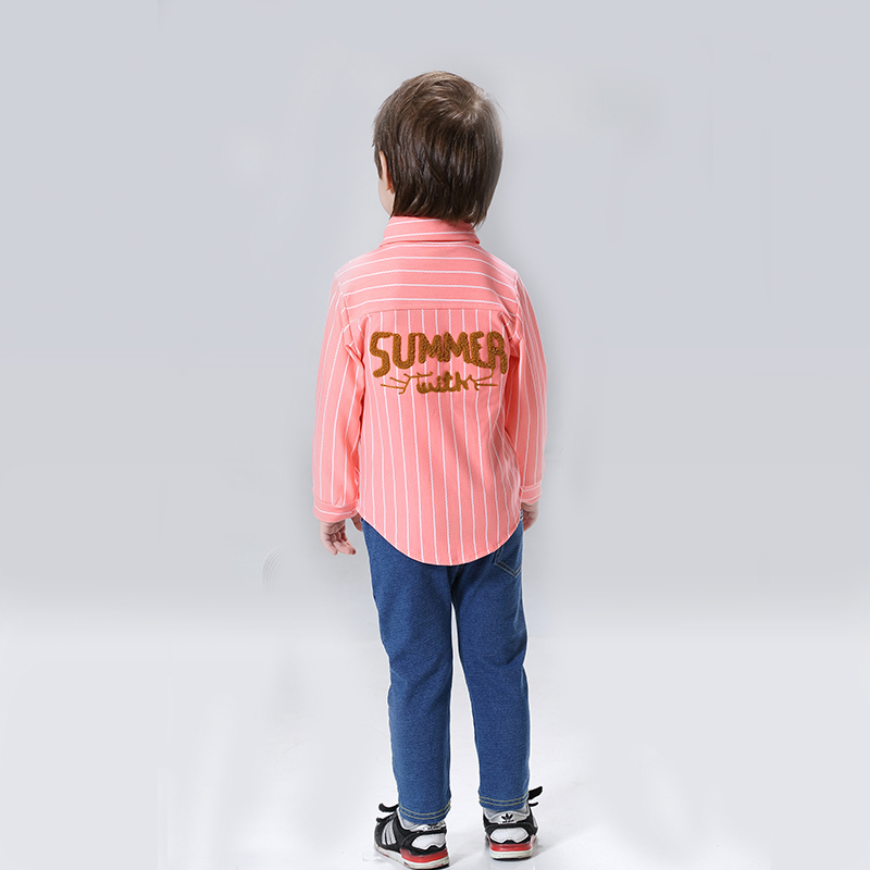 2017 casual kids summer boys clothes clothing sets