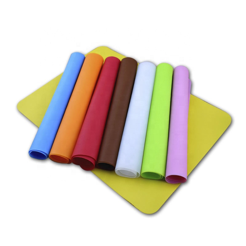 Heat Resistant Silicone Baby Placemat Non Slip Silicone Kids Table Mat Silicone Placemat for Kids