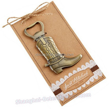 Wholesale Wedding Gift Return Gift Western Cowboy Boots Bottle Opener