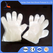 medical consumable supplies disposable plastic gloves