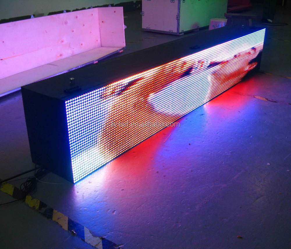 1920*320mm p10 wifi 3G double sided led message board waterproof, electronic message board, led scrolling message board