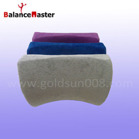 Memory foam back support waist rest cushion