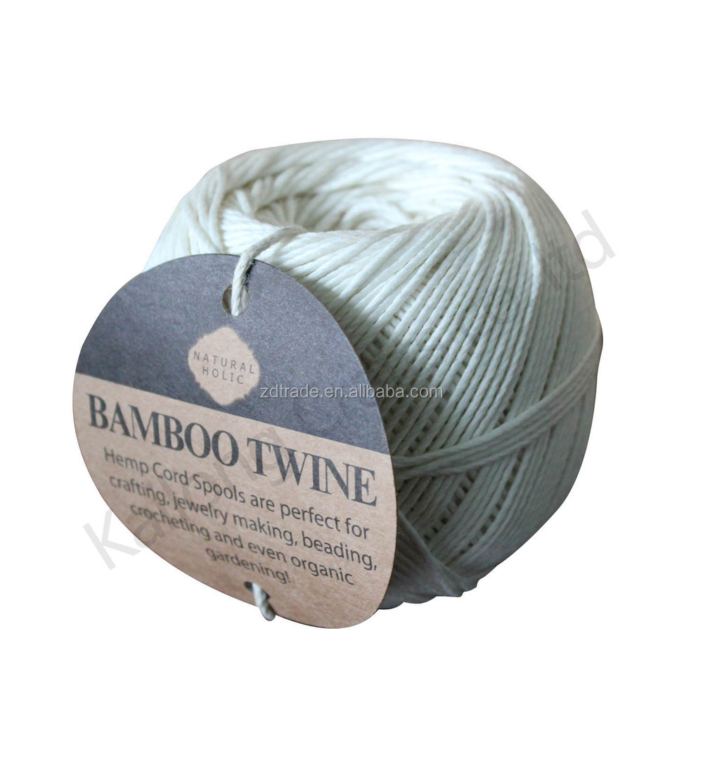 131meters 100% Bamboo cords Ball for DIY crafts & Home Gardening.