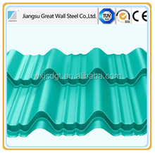 Flexible Installed PPGI PPGL CORRUGATED Metal Roofing Plate