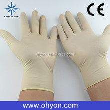2016 Medical disposable best supplies silicone baking 5 fingers gloves cheap latex gloves manufacturer