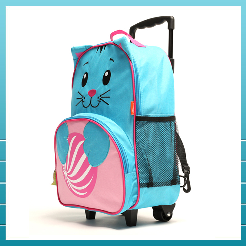 2017 New style animal school bag cartoon kids backpack for school