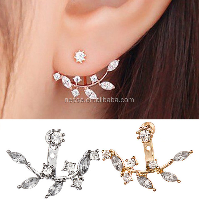 Fashion Crystal Earrings Jewelry Wholesale Dropship wholesale NSJJ-0027