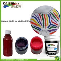 environmental friendly poly cotton fabric printing pigment need agent