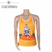 Quick drying Fashion custom printing Wholesale men Gym Singlets