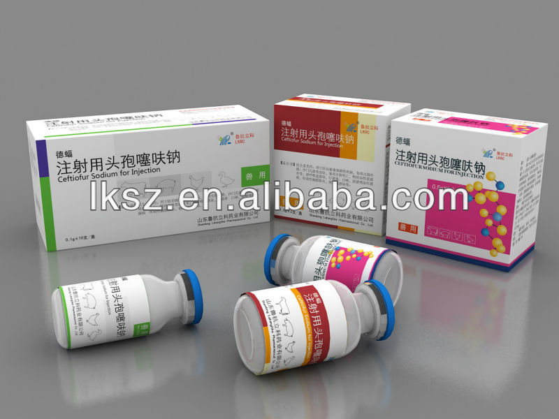 Animal Drug Ceftiofur sodium for injection