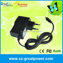 Universal cell tablet 12v 1.5a 18w ac adapter