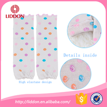 Wholesale knit colorful dots baby kids leg warmers