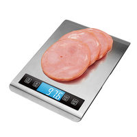 Slim LCD Display Stainless Steel Food