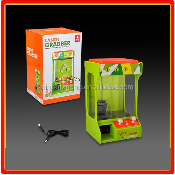 Kids Claw Candy machine plastic grabber toys