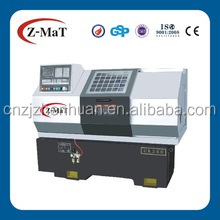 CK350 hydraulic collet auto lubrication system 4 station toolpost c axis live toolings cnc lathe