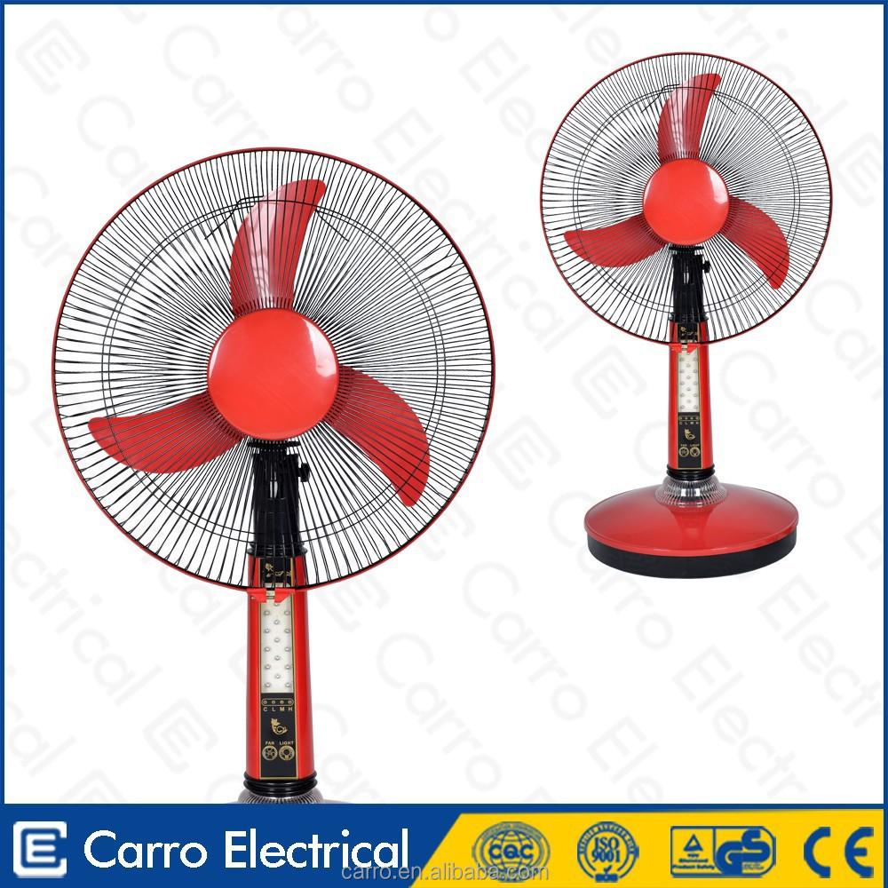 12V DC Motor Rechargeable ice cooling fans with remote control
