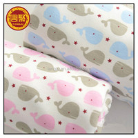 Trade assurance 100 organic cotton knitted fabric for baby thermal underwear cloth,mattress fabric on sale