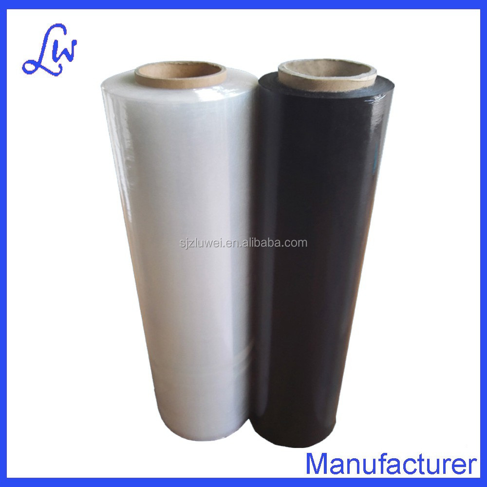 China 100% virgin marerials pe/lldpe pallet plastic stretch film