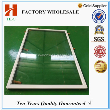 5mm tempered large fixed glass panel windows for house decoration