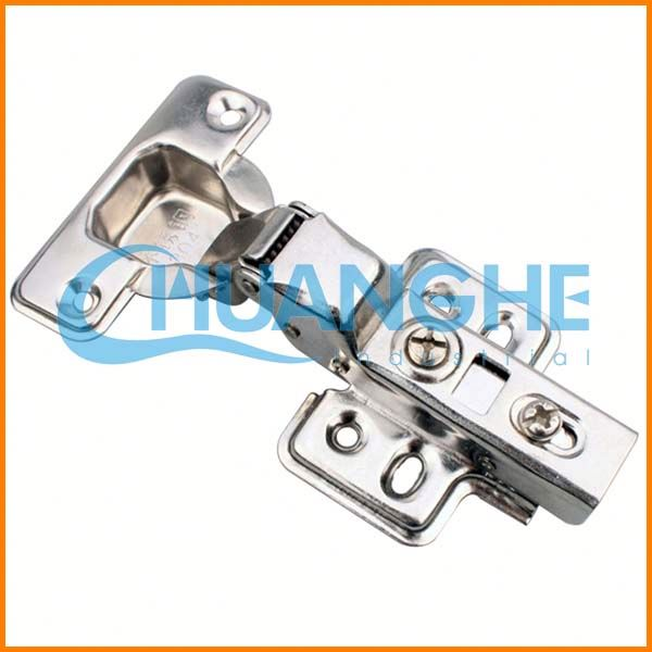 Hydraulic buffering hinge hinges bed frame