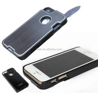 Creative Gifts Outdoor Knife Protective Case for iPhone5 5S,for iPhone 5 5S Creative Army knife Slices with Beer Bottle Opener