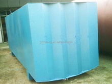 Quality garanteed customized rectangular carbon steel storate tank for diesel, kerosene, diesel from Chinese factory directly
