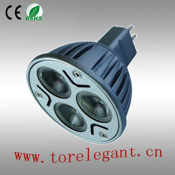 High Lumen CREE 3W LED Spotlight E27 E26