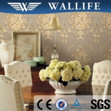 DK70104 washable deep embossed kitchen vinyl wallpaper