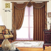 2016 New Style Custom Luxury Drapes Curtains