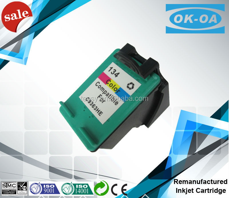 compatible ink cartridge 134 for HP printer ink cartridge