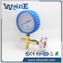 UL approved low pressure refrigerator gauge