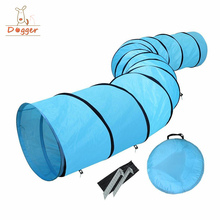Dogs outdoor dog tunnel China factory price pet dog agility training tunnel