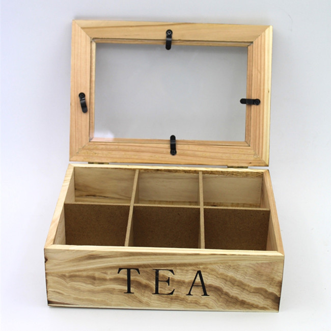 Excellent Design Wooden Gift Box With Acrylic Top