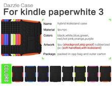 armor kickstand hybrid case low moq for amazon kindle paperwhite 1 2 3