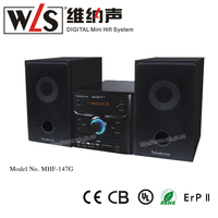 2014 New DVD Player MHF-147 with micro hifi system, Support DVD/VCD/CD/MP3/MPEG4/JPEG CD