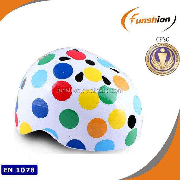 2015 Wholesale custom designer sports safety kids skate boad skating helmet for children