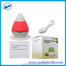 2016 new hot mute Mini humidifier, give you a comfortable breathing / LED light for Car Office Home