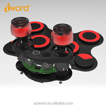 iWord G3003 Professional Drum Set Roll Up Drum Soft Silicone Hand Drum Kit