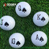 2 piece crazy golf training balls China mini range ball