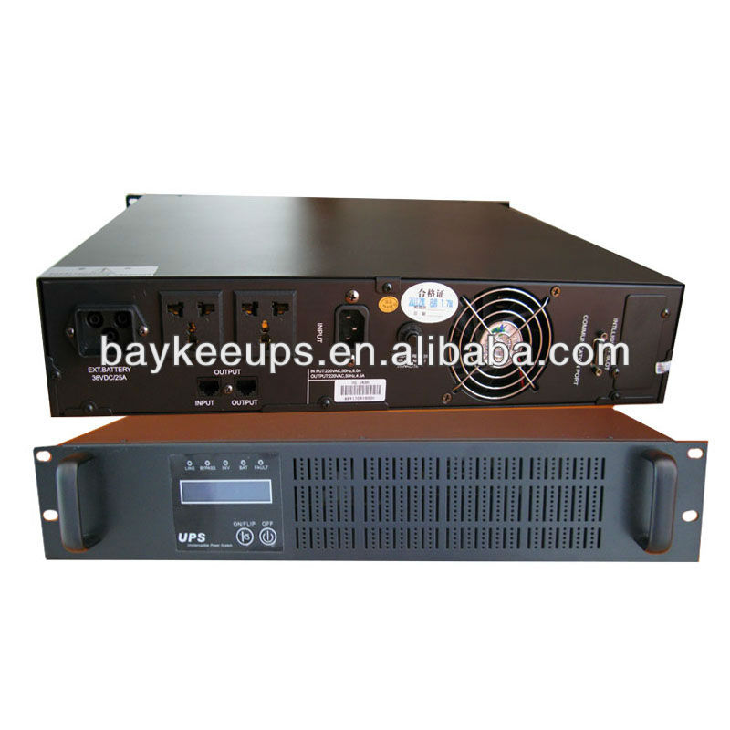 Baykee High Frequency Online Rack Mount Ups 1k 3kva