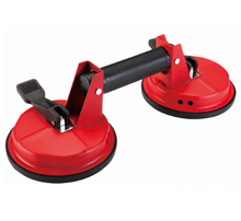 KM-2R two claw glass lifter suction cup heavy duty aluminum glass sucker