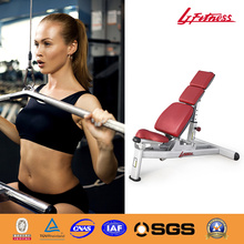 LJ-5531-7 Multi-adjustable bench antique sports equipment